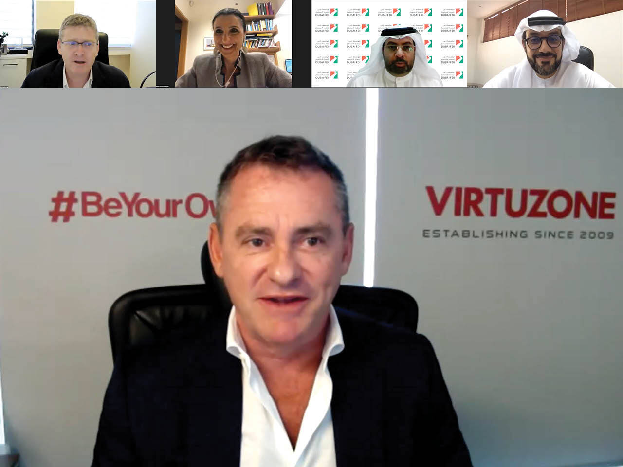 Neil interview with UAE-Israel Business Council