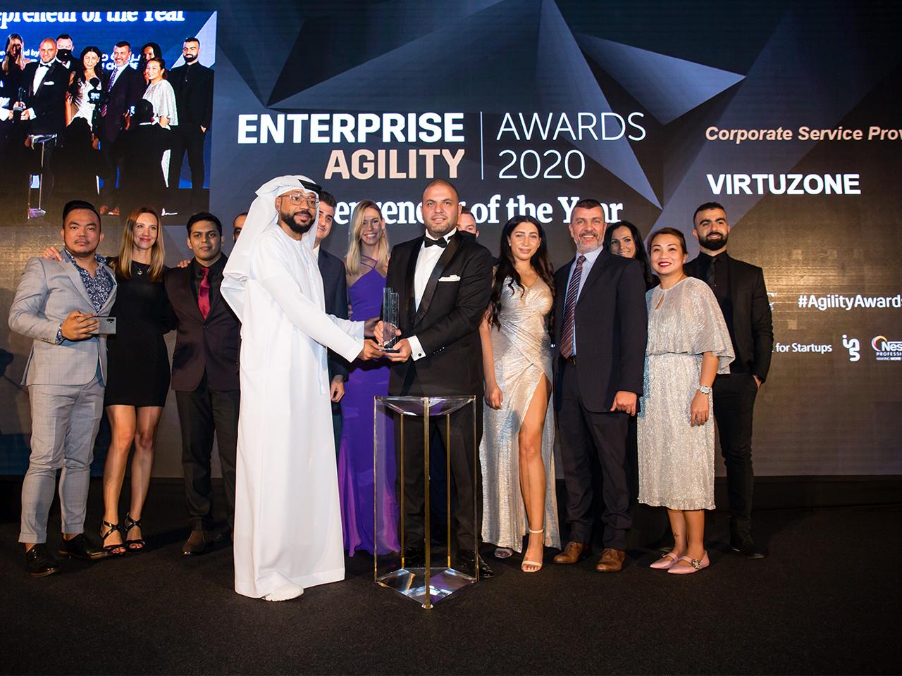 Entrepreneur Enterprise Agility Awards