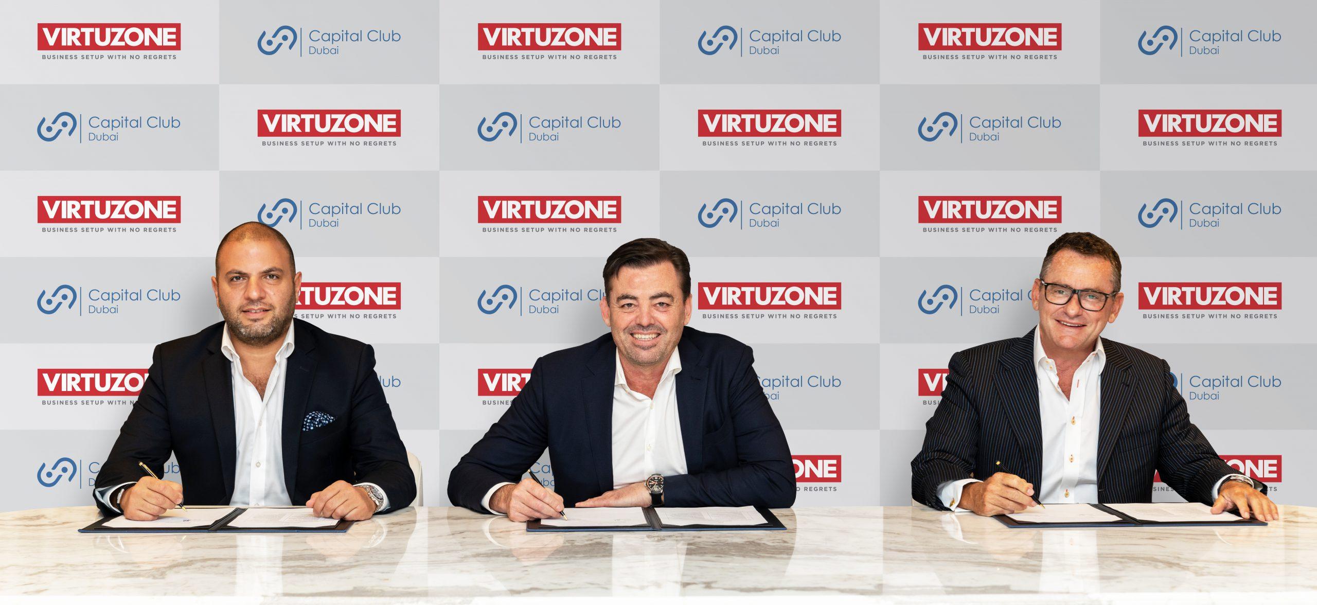 Virtuzone and Capital Club Partnership